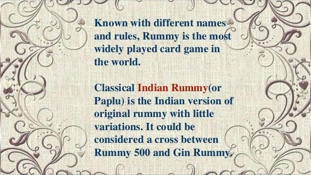 card games rummy free