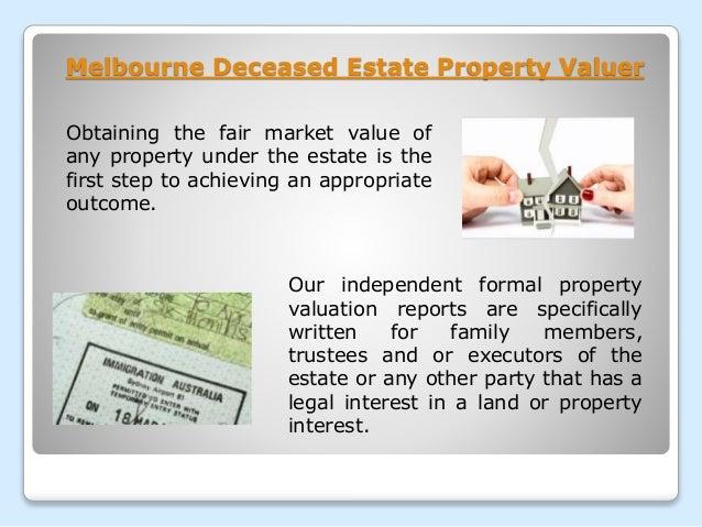 Deceased Estate Melbourne Property