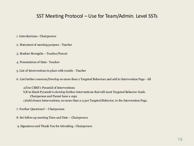 December 1 sst training