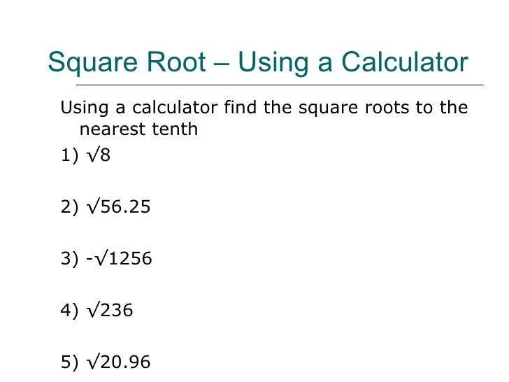 how to find square root of 1681