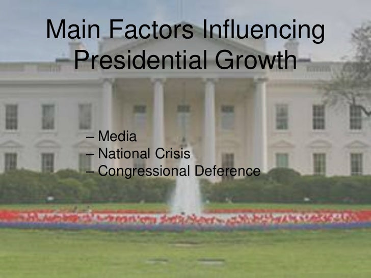 the growth of presidential power Summarize the growth in presidential power since the ratification of the  constitution  the growing expectations that the public has of presidents  creates a gap.
