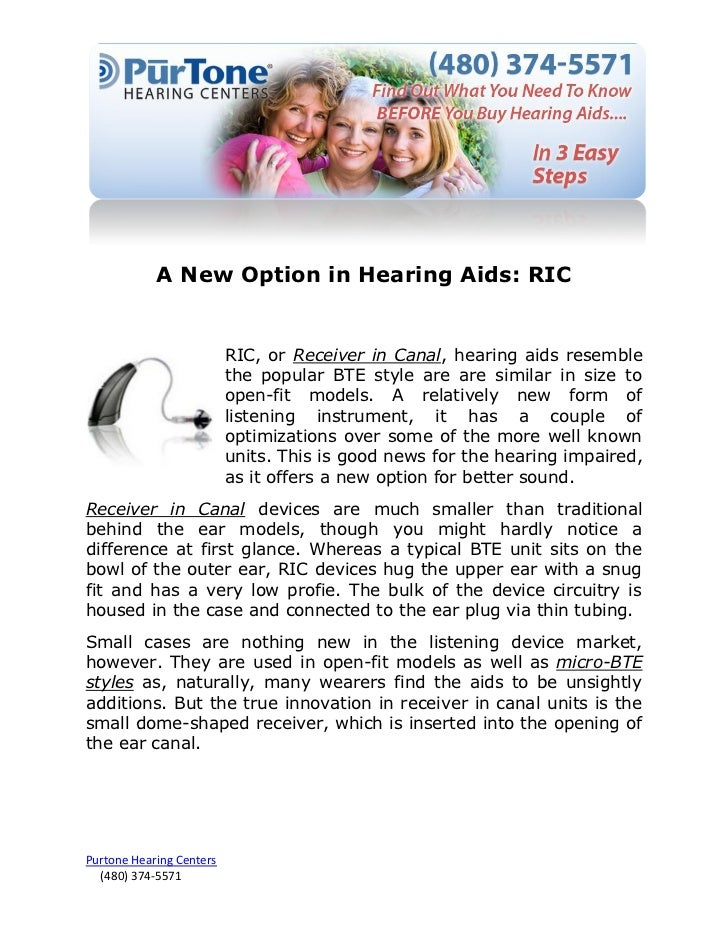 New Option 2015 For Acrylic Nails Style: A New Option In Hearing Aids: RIC