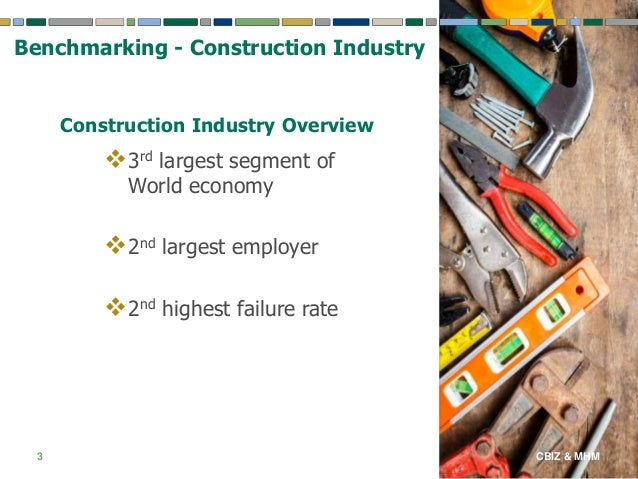 The construction industry benchmark