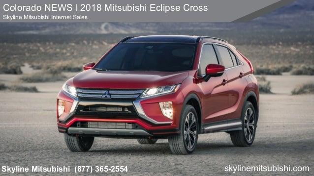Colorado 2018 Mitsubishi Eclipse Cross