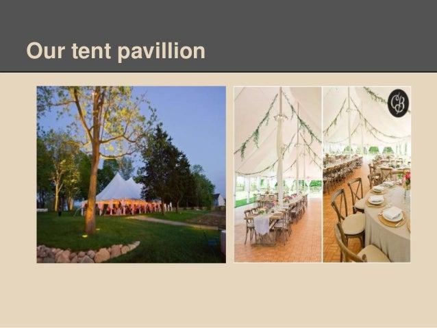 Our tent pavillion