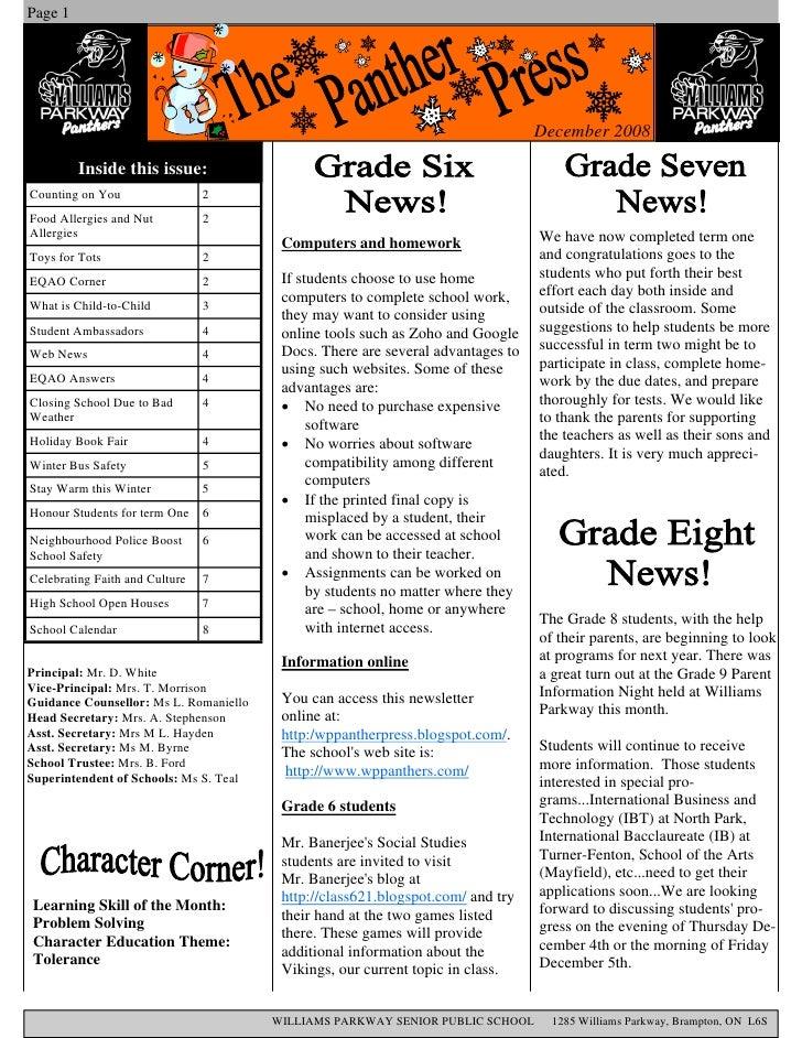 Page 1                                                                                      December 2008           Inside...