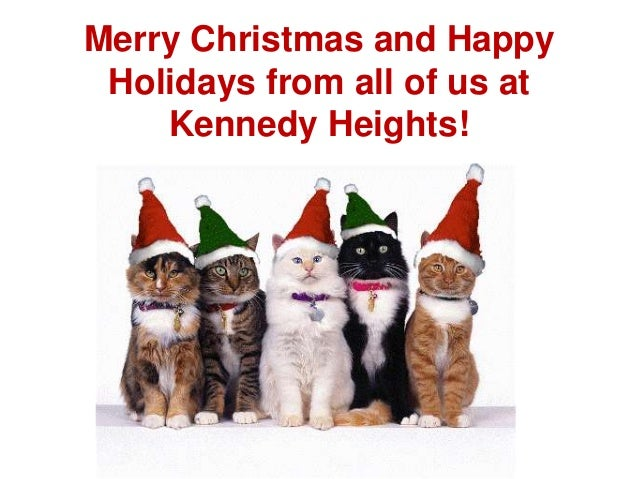 Merry Christmas and Happy Holidays from all of us at Kennedy Heights!