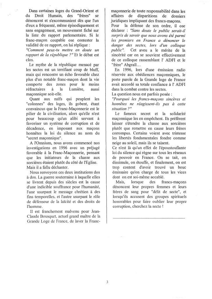 Bulletin de l'Omnium décembre 1999 Slide 3
