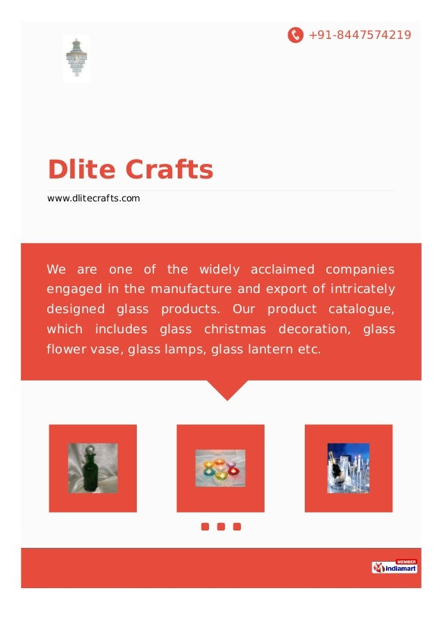 +91-8447574219 Dlite Crafts www.dlitecrafts.com We are one of the widely acclaimed companies engaged in the manufacture an...