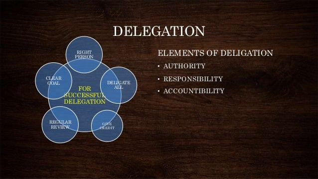 delegation and decentralization Decentralisation advantages and limitations of decentralization, article posted by gaurav akrani on kalyan city life blog.