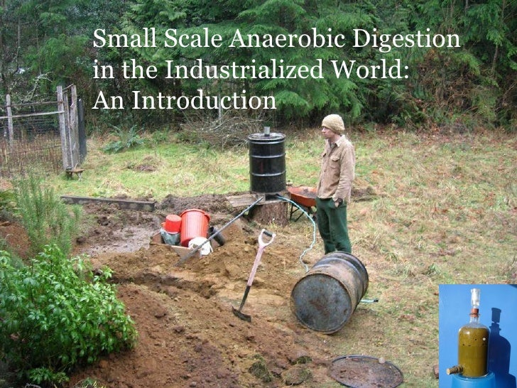 Small Scale Anaerobic Digestion  in the Industrialized World: An Introduction