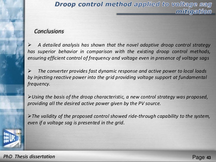 load frequency control dissertation Dissertation services literature review of load shedding the generators designated to provide voltage and frequency control will respond to control the.