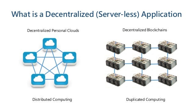 Personal Cloud 4 What Is A Decentralized