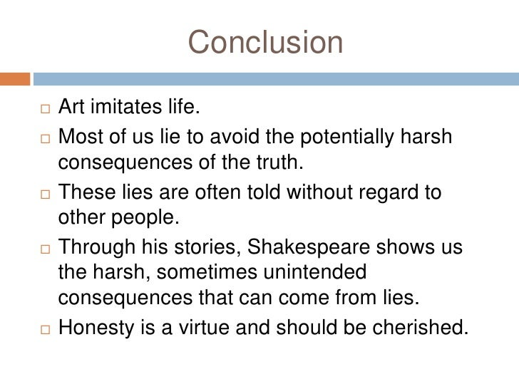 deception in the works of william shakespeare <br > 11
