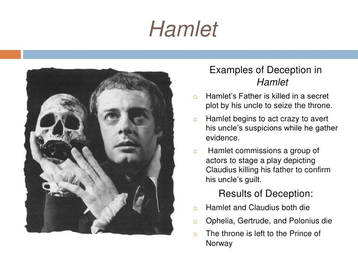 Hamlet lies and deception essay