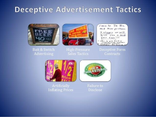 deceptive advertising