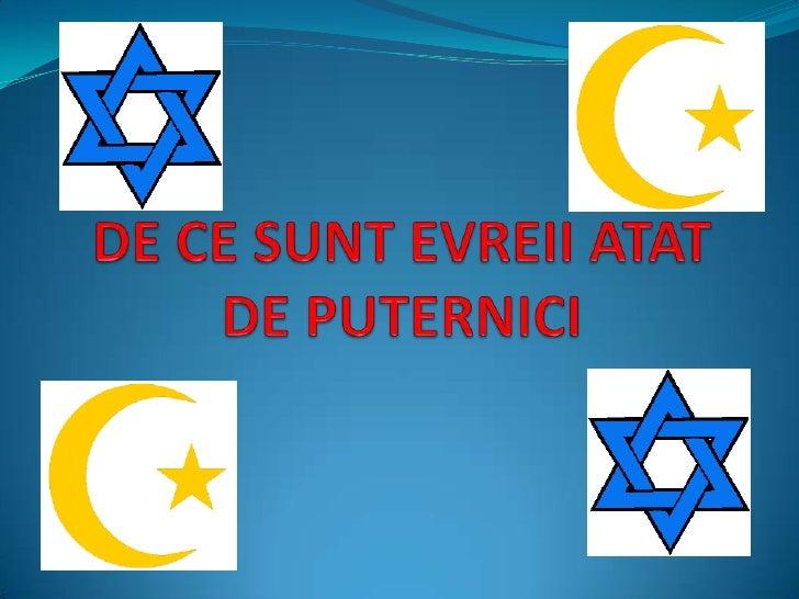 De ce sunt evreii atat de puternici<br />
