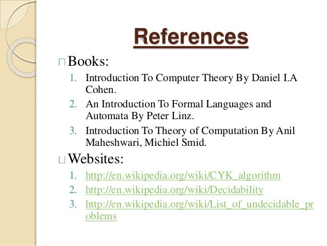 Introduction to Computer Theory Solutions Manual - Cohen - Google Books