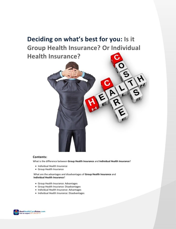 The difference between Group Health Insurance and ...