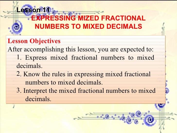 Decimal Numbers Part 2