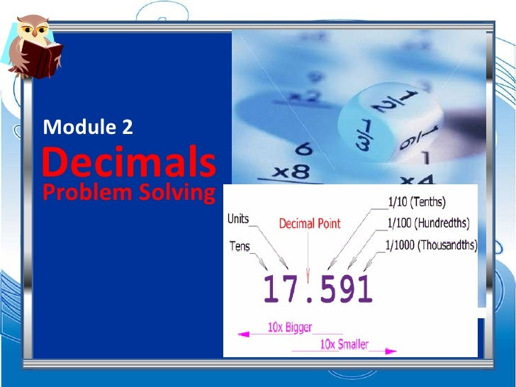 Decimals Module 2 Problem Solving