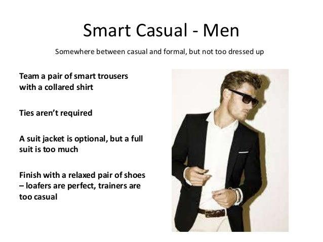 Dressy Casual Attire For Men