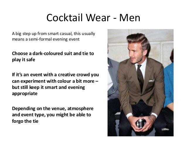 Cocktail dresses evening wear men