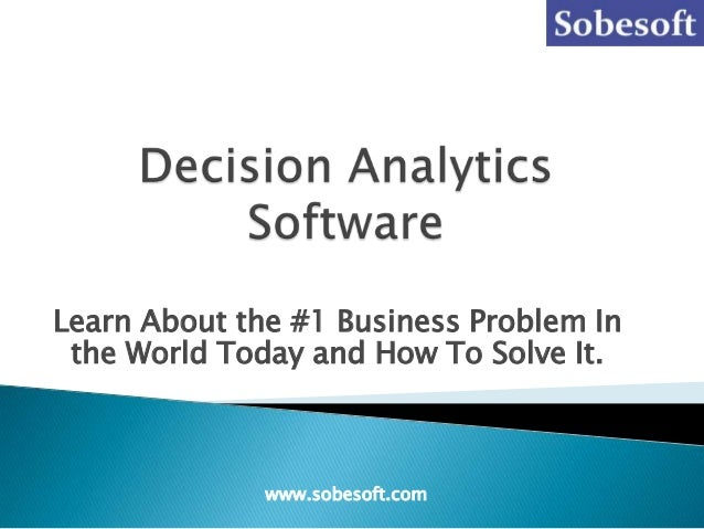 Learn About the #1 Business Problem Inthe World Today and How To Solve It.www.sobesoft.com