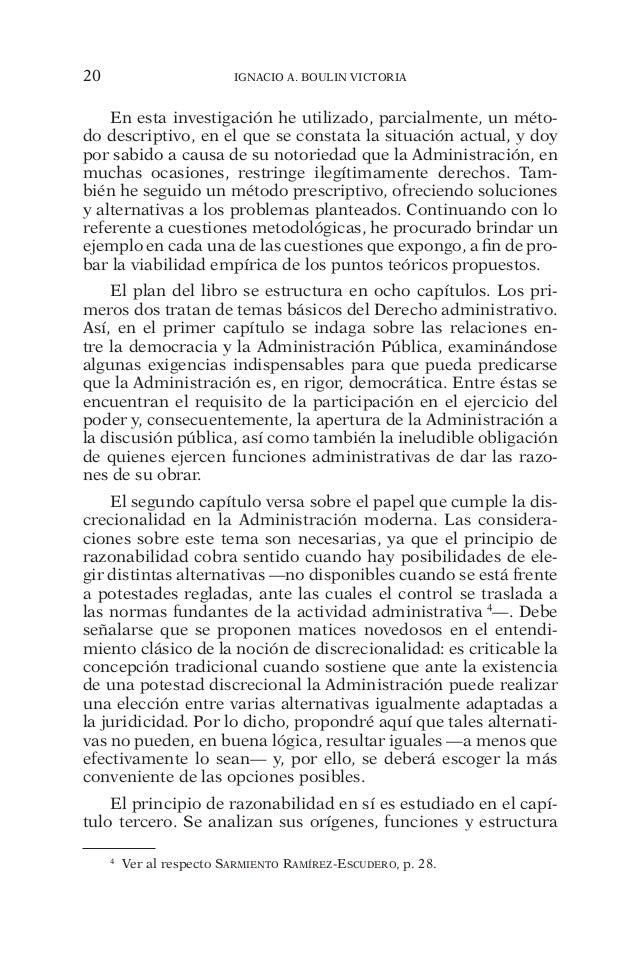 20 IGNACIO A. BOULIN VICTORIA  En esta investigación he utilizado, parcialmente, un méto-do  descriptivo, en el que se con...