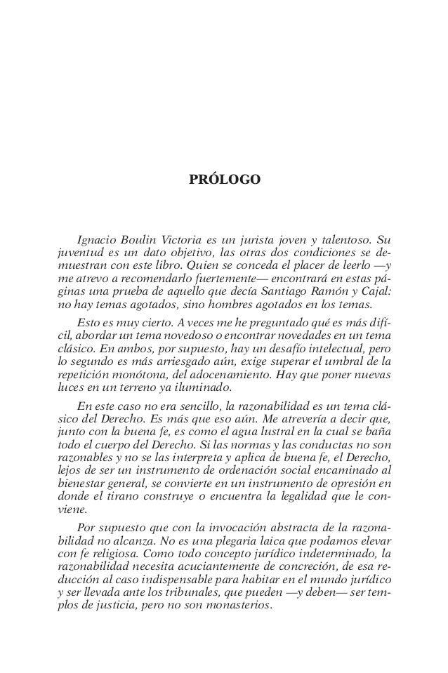 PrÓlogo  Ignacio Boulin Victoria es un jurista joven y talentoso. Su  juventud es un dato objetivo, las otras dos condicio...