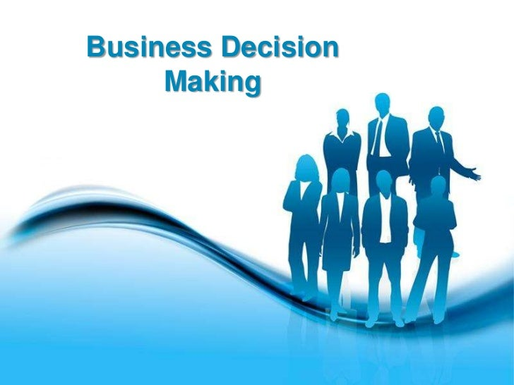 Business Decision     Making       Free Powerpoint Templates                                   Page 1