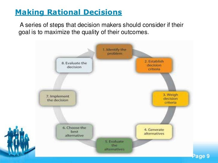 an analysis of decision making