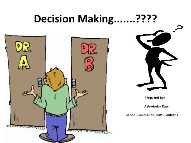 desicion making and problem solving 2018-8-10 a method for solving a decision problem, given in the form of an algorithm, is called a decision procedure for that problem.