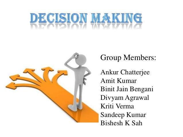 Group Members:Ankur ChatterjeeAmit KumarBinit Jain BenganiDivyam AgrawalKriti VermaSandeep KumarBishesh K Sah