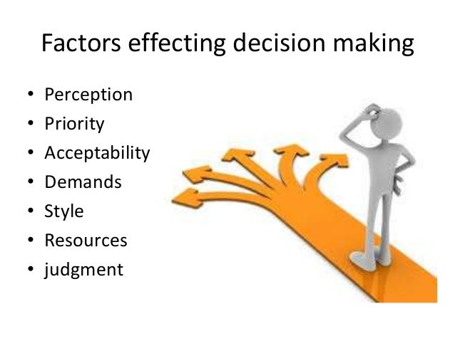 the importance of making a decision How you make decisions is as important as what you decide the decision-making the company would also get feedback on important leadership decisions.