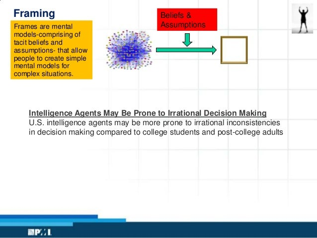 Decision Making for the Project Leader
