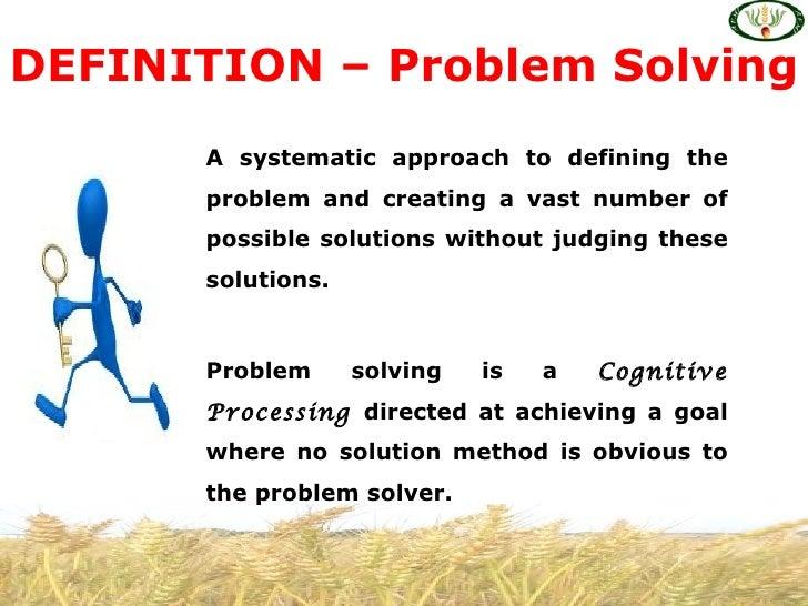 problem solving culture statistics