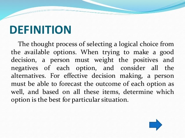 queuing theory in decision making Waiting line or queuing theory has been applied to a variety of business  situations all  decision making tool in the field of replacement.