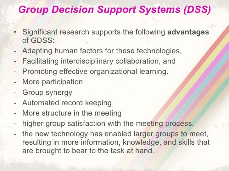 Group Decision System 115