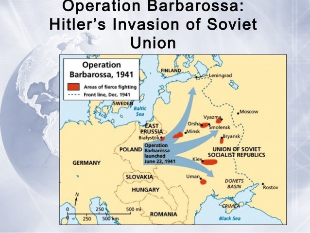 explain why barbarossa was a turning World war ii from top left to  in june 1941, germany attacked the soviet union in operation barbarossa  which was one of the turning points of the war.