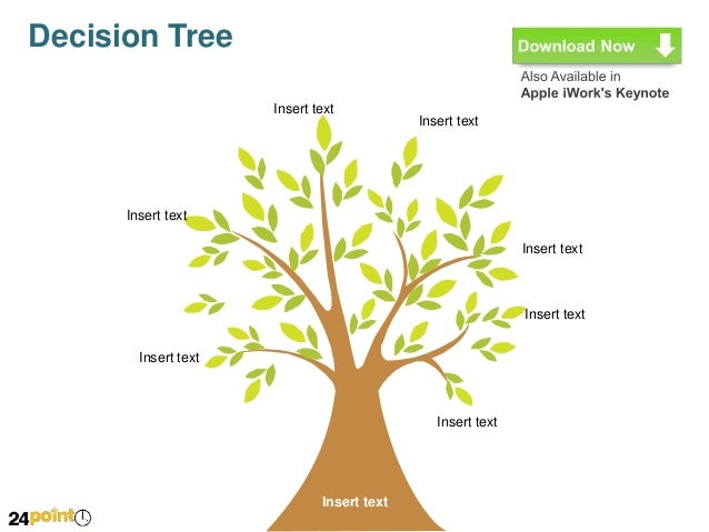 Editable Decision Tree Diagram For Ppt