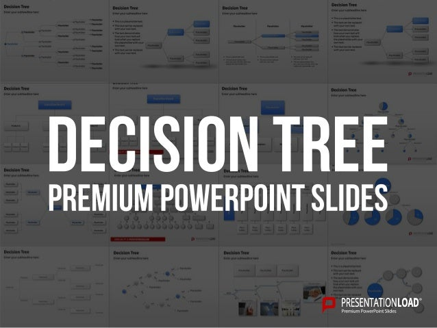 decision tree example this is a placeholder text this text can be replaced decision tree powerpoint template