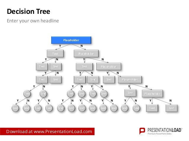 Decision Tree PPT Example Template ...  Decision Chart Template