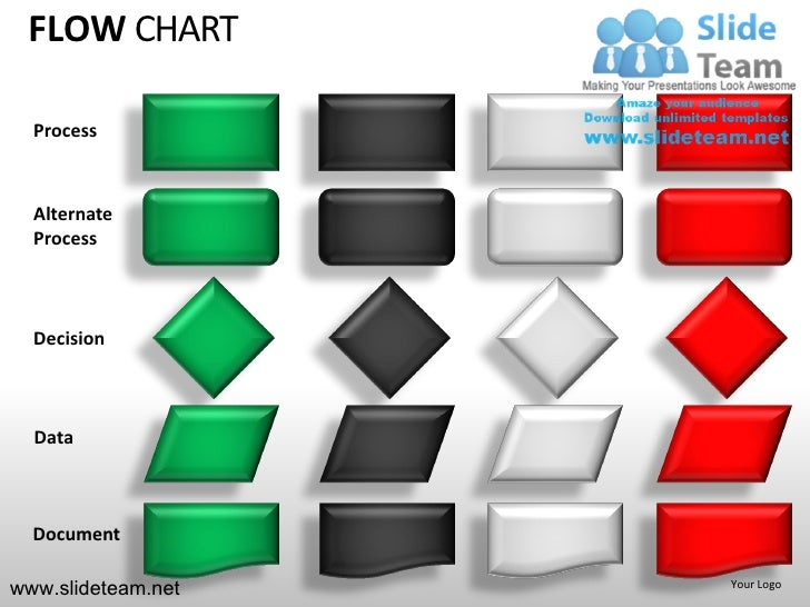 decision tree flow chart powerpoint presentation templates., Powerpoint templates