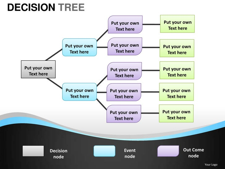 decision tree powerpoint presentation templates. Black Bedroom Furniture Sets. Home Design Ideas