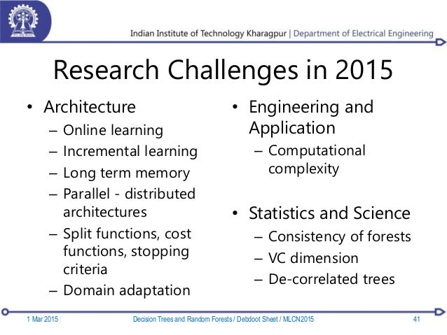 Research Challenges in 2015 • Architecture – Online learning – Incremental learning – Long term memory – Parallel - distri...