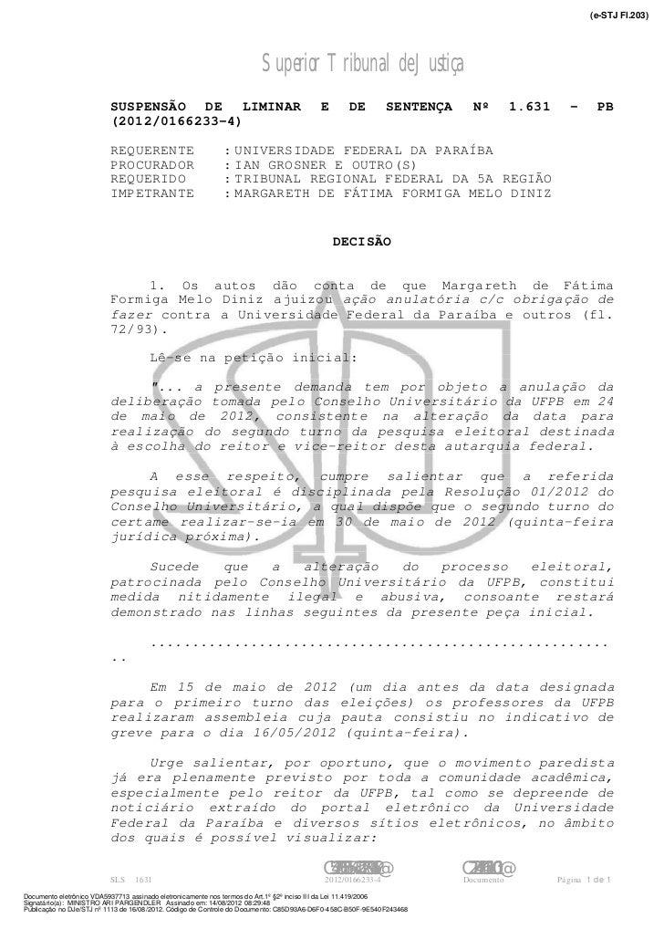 (e-STJ Fl.203)                                                                      Superior Tribunal de Justiça          ...