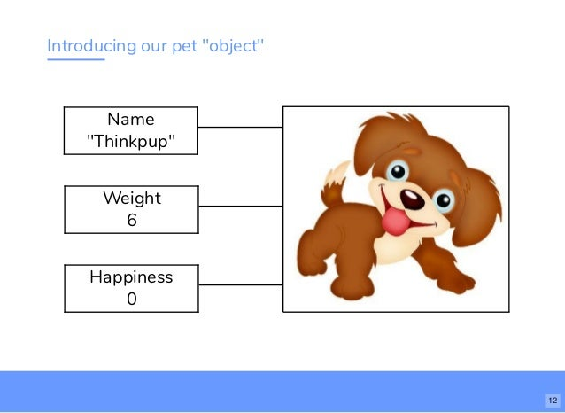 More About Variables 11 12 Introducing Our Pet