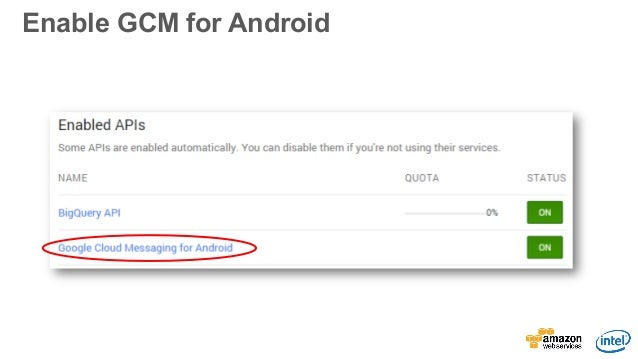 how to get android app gcm device registration id
