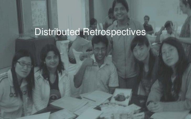 Distributed Retrospectives<br />
